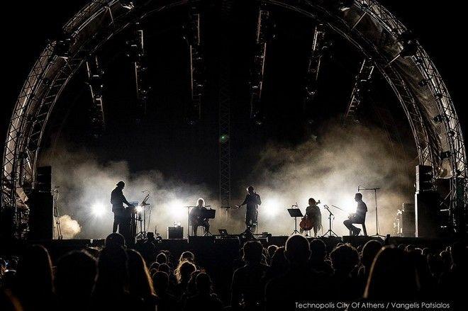 Γιάννης Αγγελάκας και Νίκος Βελιώτης στην συναυλία τους στην Τεχνόπολη (13/09)