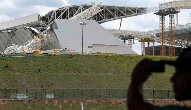 Ένας ακόμα νεκρός στα έργα για το Παγκόσμιο Κύπελλο