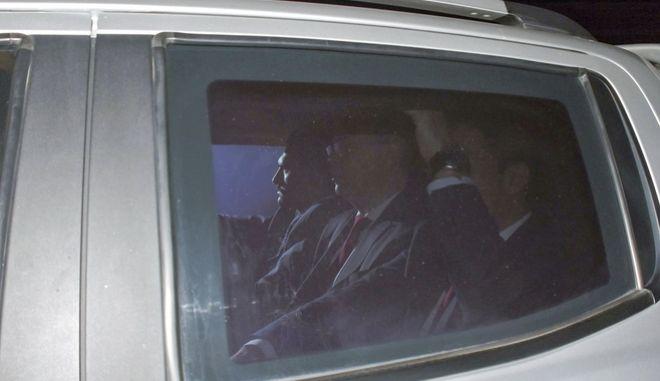 Ο αμερικανός πάστορας, Andrew Brunson,  καταφτάνει στο δικαστήριο της Σμύρνης.