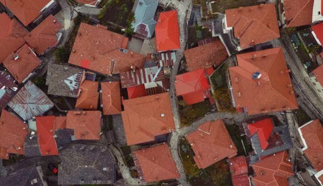 Το Μέτσοβο από ψηλά