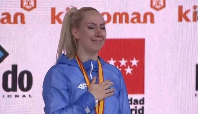 Καράτε: Παγκόσμια πρωταθλήτρια η Ελένη Χατζηλιάδου