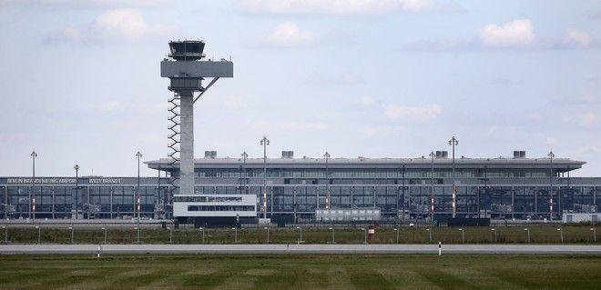 Εικόνα από το νέο αεροδρόμιο Βερολίνου Βραδεμβούργου τον Οκτώβριο του 2013