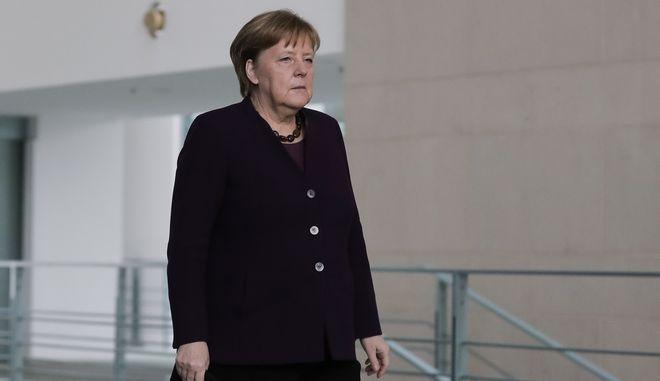 Η Γερμανίδα Καγκελάριος Α. Μέρκελ