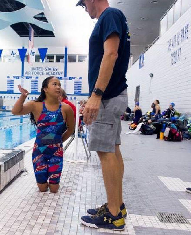 Μαθήματα ζωής από ακρωτηριασμένη αθλήτρια
