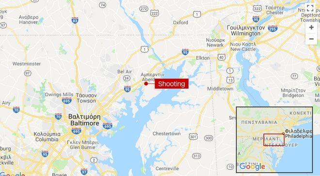 Μέριλαντ: Γυναίκα άνοιξε πυρ σε αποθήκη διανομής φαρμάκων - Τέσσερις νεκροί
