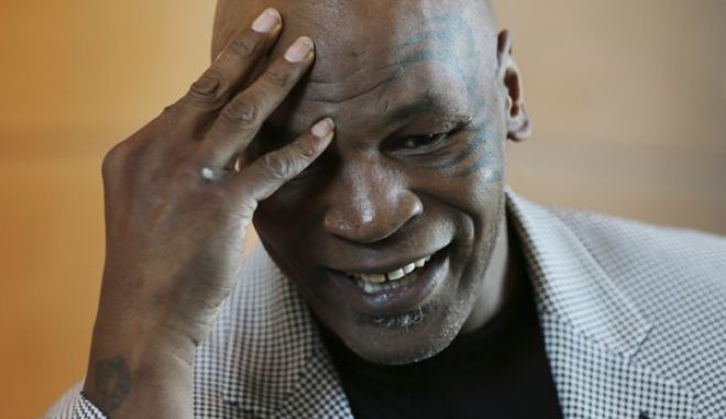"Mike Tyson speaks during an interview with The Associated Press, in Dubai, United Arab Emirates, Thursday, May 4, 2017. Tyson is in Dubai to announce the start of his worldwide boxing gym franchise. Tyson said Thursday that a city like Dubai can show people the best of the Middle East, its people and Islam. Tyson praised the sheikhdom as ""a party place, a place you have a good time at. This is like New York, man!"" He said that contradicts some negative perceptions of the Mideast. (AP Photo/Kamran Jebreili)"