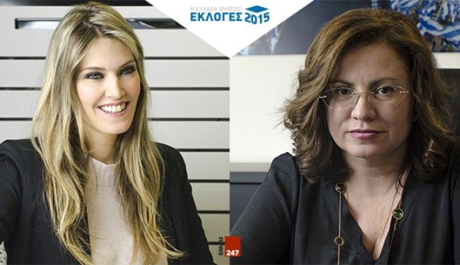 DEBATE στο NEWS247: Μαρία Σπυράκη VS Εύα Καϊλή