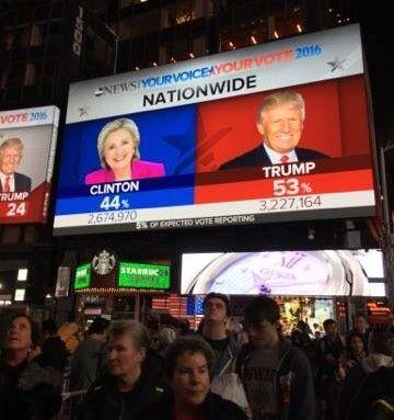 Αμερικανικές εκλογές: Ο Τραμπ νέος πλανητάρχης