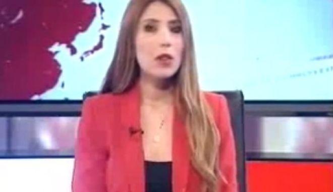 Επική MEGA γκάφα: 'Πφου, σόρι' και πάλι από την αρχή στο δελτίο ειδήσεων