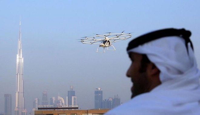 Ντουμπάι: Η πρώτη πόλη που δοκιμάζει ιπτάμενα ταξί