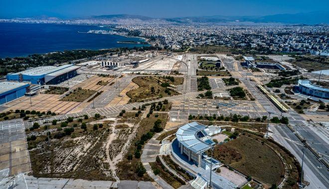 To παλιο αεροδρόμιο του Ελληνικού
