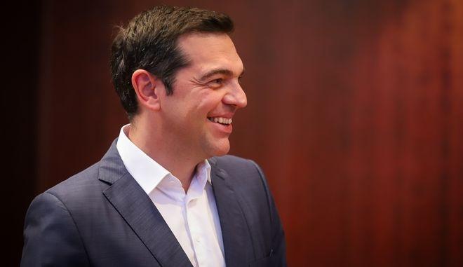 Ο πρωθυπουργός Αλέξης Τσίπρας