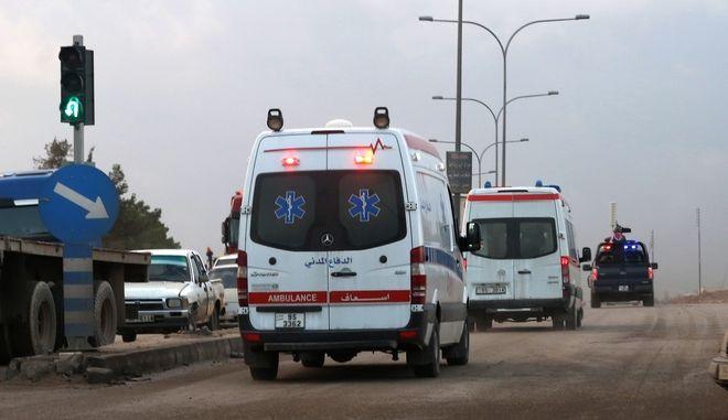 Ασθενοφόρα στην Ιορδανία