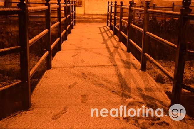Κακοκαιρία Λέανδρος: Έπεσαν τα πρώτα χιόνια στην Πάρνηθα