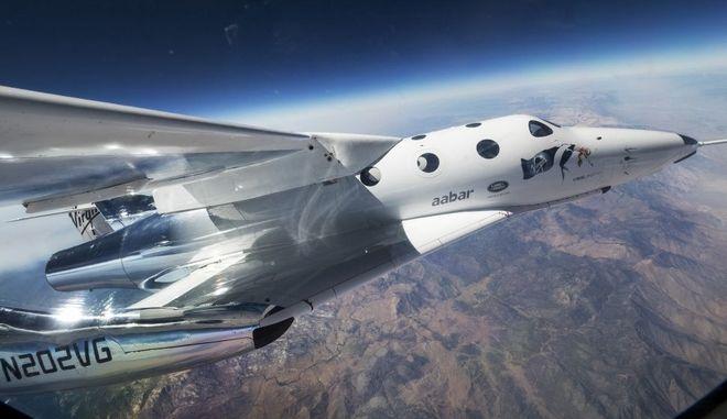 Virgin Galactic: Το πυραυλοκίνητο αεροπλάνο με υπερηχητική ταχύτητα Μαχ 3 στα σύνορα του διαστήματος