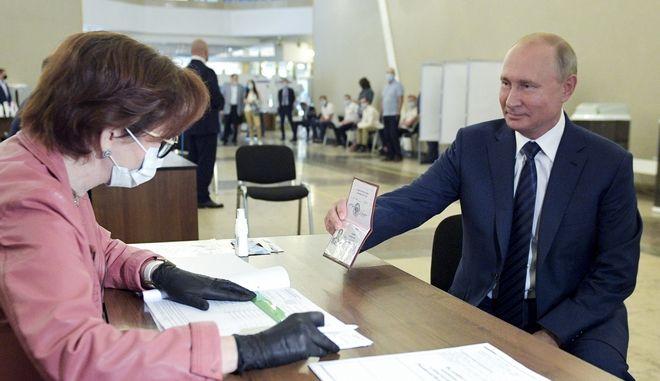 O πρόεδρος της Ρωσίας, Πούτιν