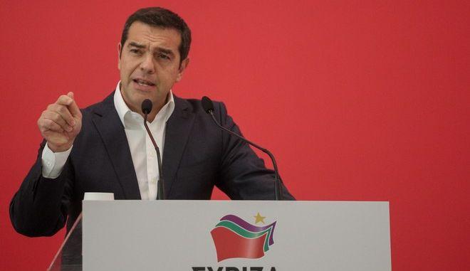 Ο Αλέξης Τσίπρας σε ομιλία του στην Κεντρική Επιτροπή ΣΥΡΙΖΑ