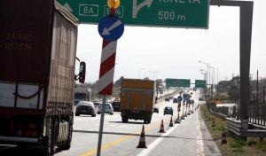 Έργα ασφαλτόστρωσης της Εθνικής Αθηνών-Κορίνθου και κυκλοφοριακές ρυθμίσεις