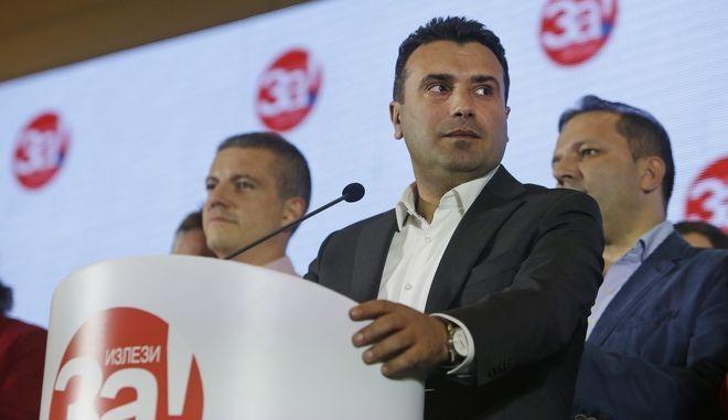 Ο πρωθυπουργός των Σκοπίων, Ζόραν Ζάεφ