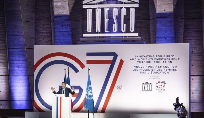 Εμανουέλ Μακρόν στη G7