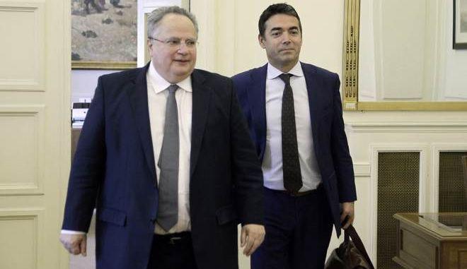 Κοτζιάς - Ντιμιτρόφ - Νίμιτς συμφώνησαν σε συνέχιση προσπαθειών για το θέμα της ονομασίας