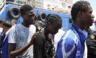 Μετανάστες στην Τυνησία (Αρχείο)