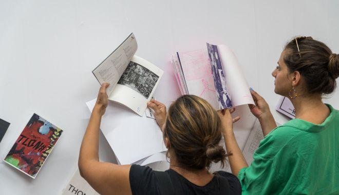 Βιβλία τέχνης, από πολυτελή έως χειροποίητα, στην Κυψέλη