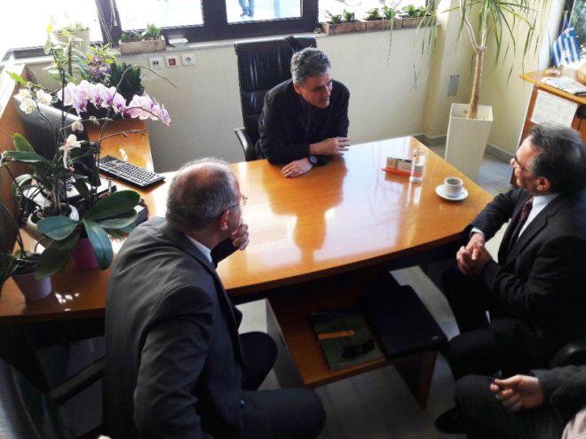 Συνάντηση του Προέδρου της Τράπεζας με τον Υπουργό Οικονομικών
