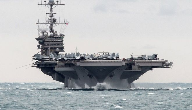 To USS Harry S. Truman