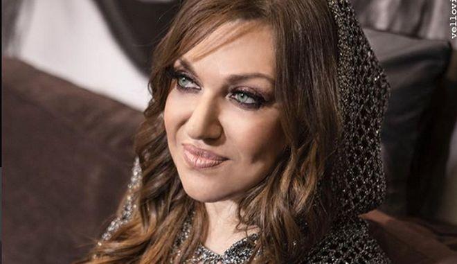 Η τραγουδίστρια Καίτη Γαρμπή