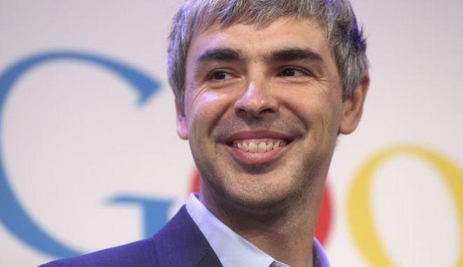 O Λάρι Πέιτζ, το Μάιο του 2012 σε ομιλία του στα γραφεία της Google. Ως παιδί ονειρευόταν να βρει δουλειά που θα έχει μεγάλο γραφείο, καλό μισθό και λίγες ώρες εργασίας.