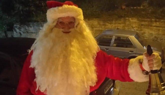 """Τραγωδία στη Λαμία: Έφυγε ξαφνικά από τη ζωή ο """"Άγιος Βασίλης"""" της πόλης"""