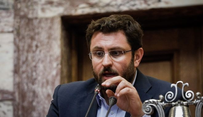 Ο διευθυντής της ΚΟ του ΣΥΡΙΖΑ, Κ. Ζαχαριάδης