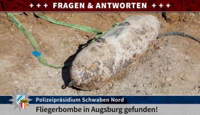 Άουγκσμπουργκ: Εξουδετερώθηκε η βόμβα του Β΄ ΠΠ που είχε βρεθεί