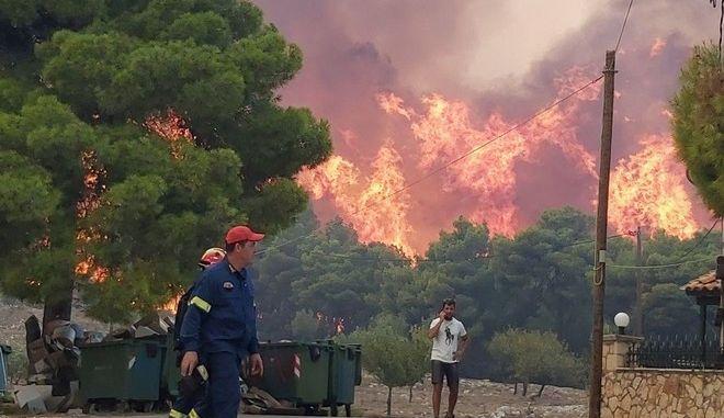 Φωτιά στη Ζάκυνθο - Φωτογραφία αρχείου (EUROKINISSI/ΗΜΕΡΑ ΖΑΚΥΝΘΟΥ)