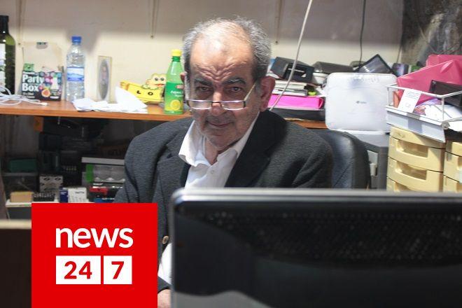 Ο πρόεδρος του συνδέσμου οικιακών βοηθών Κύπρου Λούης Κουτρουκίδης.