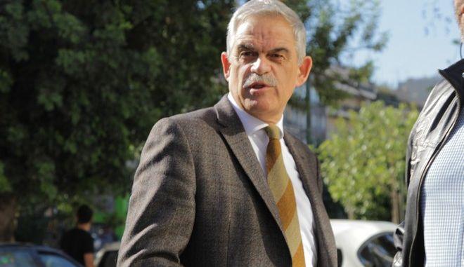 Στην Εισαγγελία του Αρείου Πάγου, ο υπουργός Δικαιοσύνης Νίκος Παρασκευόπουλος και ο αναπληρωτής υπουργός Προστασίας του Πολίτη Νίκος Τόσκας, για να καταθέσουν για την υπόθεση Πανούση, Τετάρτη 11 Νοεμβρίου 2015.  (EUROKINISSI/ΣΩΤΗΡΗΣ ΔΗΜΗΤΡΟΠΟΥΛΟΣ)