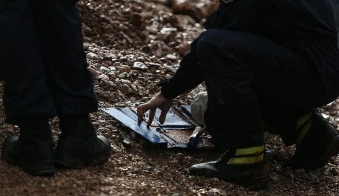Floods in the town of Mandra, northwest of Athens, on November 16, 2017, after heavy overnight rainfall in the area caused damage and left ten people dead. /           , 16  2017.