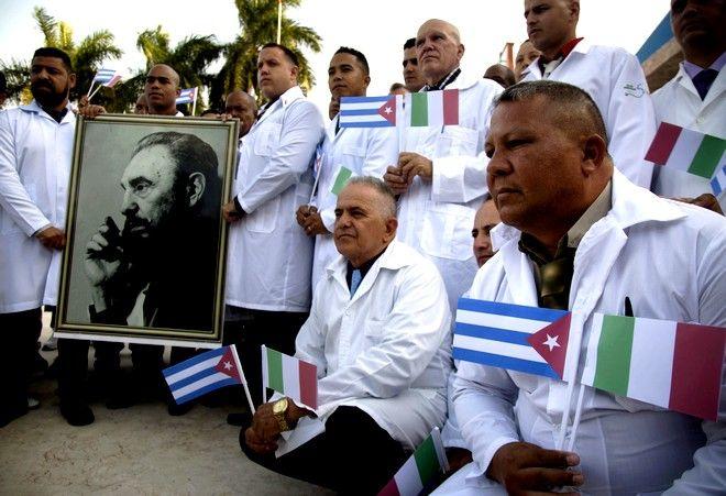 Οι Κουβανοί γιατροί στην Ιταλία