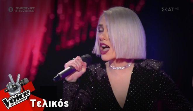 Η νικήτρια του The Voice, Ιωάννα Γεωργακοπούλου
