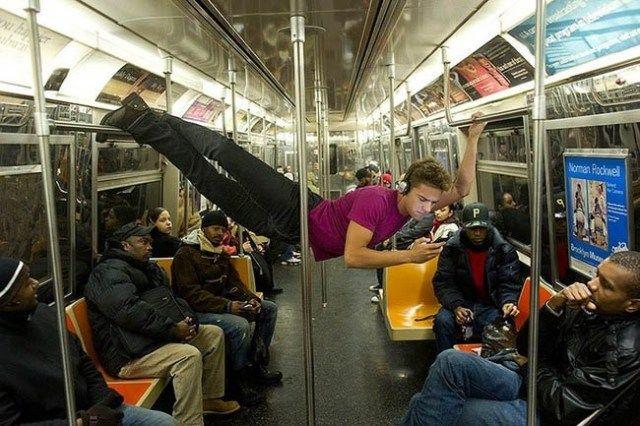 Οι χειρότερες φωτογραφίες, που έχουν τραβηχτεί σε μετρό