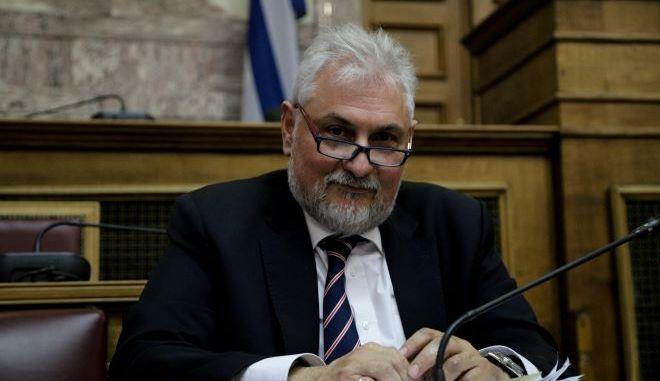 Ο γ.γ του υπουργείου Δικαιοσύνης Πάνος Αλεξανδρής