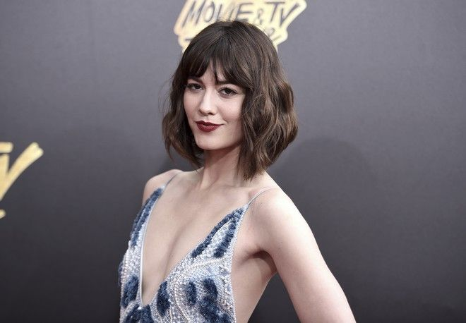 Mary Elizabeth Winstead arrives at the MTV Movie and TV Awards at the Shrine Auditorium on Sunday, May 7, 2017, in Los Angeles. (Photo by Richard Shotwell/Invision/AP)