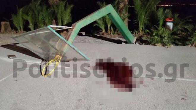 Ασύλληπτη τραγωδία στη Χίο: Νεκρός 19χρονος από πτώση μπασκέτας