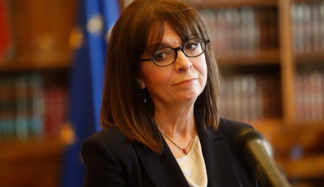 Η Πρόεδρος της Δημοκρατίας Κατερίνα Σακελλαροπούλου