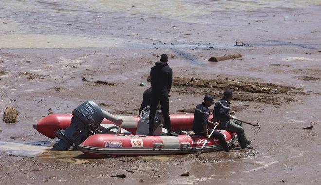 Βάρκα διάσωσης μετά από δυστύχημα στο Μαρόκο (φωτογραφία αρχείου)
