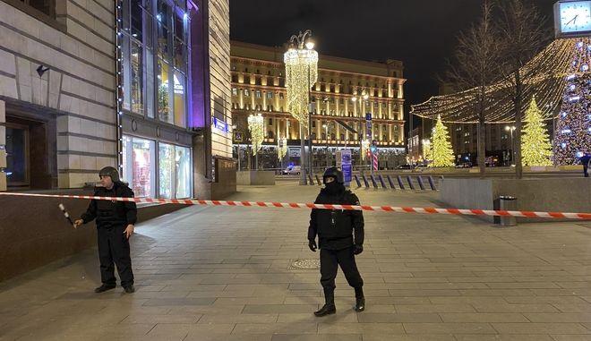 Πυροβολισμοί στο κέντρο της Μόσχας, Ρωσία