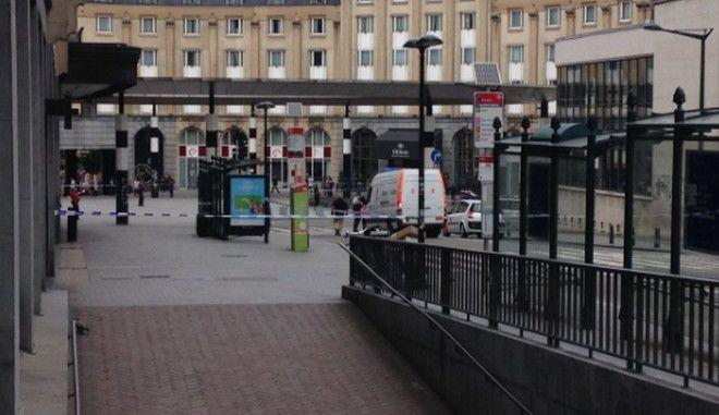 Αναταραχή στις Βρυξέλλες για δύο βαλίτσες στον σιδηροδρομικό σταθμό