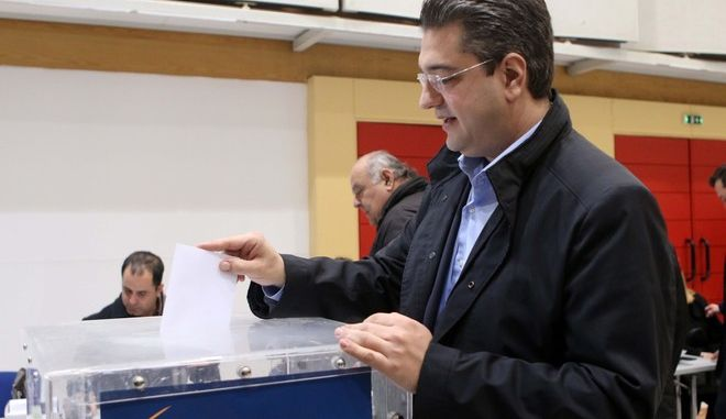 Εκλογές ΝΔ: Απ. Τζιτζικώστας: Να ξανακάνουμε τη ΝΔ μια μεγάλη κεντροδεξιά παράταξη