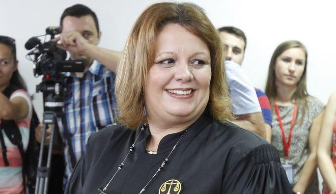 Η ειδική εισαγγελέας για την καταπολέμηση του οργανωμένου εγκλήματος στη Β, Μακεδονία, Κάτιτσα Γιάνεβα